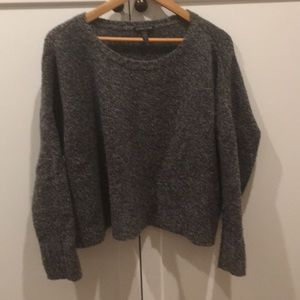 Eileen Fisher Boxy Boucle Sweater